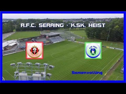 KSK TV ... R.F.C. Seraing - K.SK. Heist  1 - 1