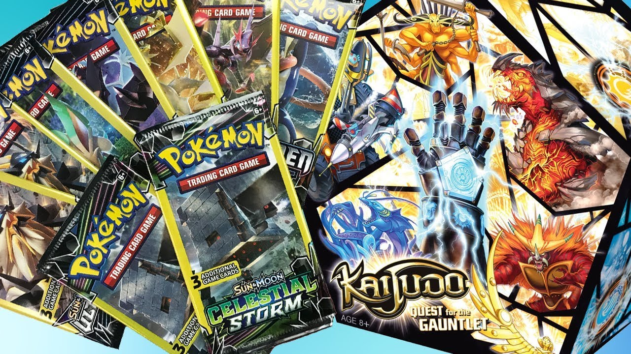 WW: Opening Dollar Tree Pokemon Pack wait is this Derium's Kaijudo now??? image