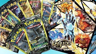WW: Opening Dollar Tree Pokemon Pack wait is this Derium's Kaijudo now???