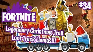 PLUS DE CADEAUX DE NOEL LEGENDARY Troll Loot Truck Lamas - France #34 Fortnite
