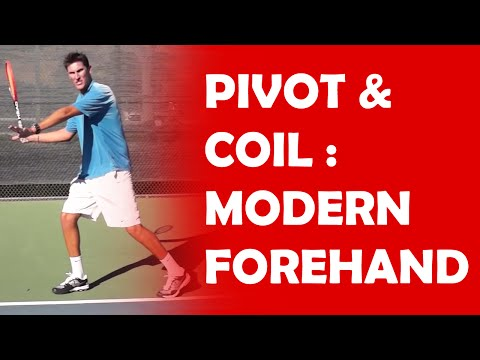 Pivot And Coil (1/3) | MODERN FOREHAND TECHNIQUE