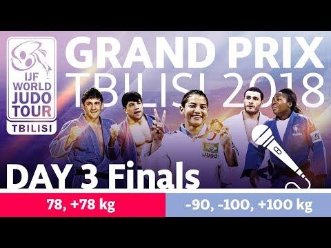 Judo Grand-Prix Tbilisi 2018: Day 3 - Final Block