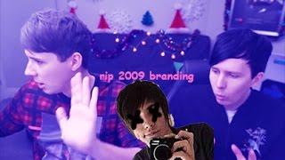 Dan and Phil take a dance break (& rip danisnotonfire, the last Emo YouTuber™)