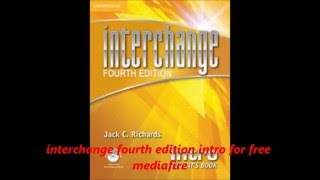 interchange fourth edition intro for free mediafire PDF