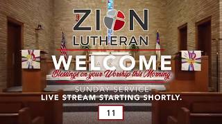 10:30 Traditional Service | Zion Lutheran Church