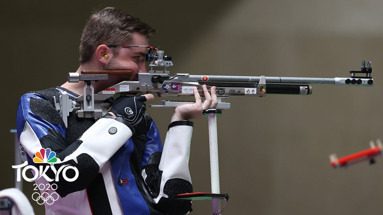 Download USA's Will Shaner wins gold in 10m air rifle, sets Olympic record | Tokyo Olympics | NBC Sports