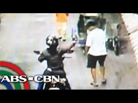 Pamamaril sa empleyado ng Pasay City Hall, huli sa CCTV