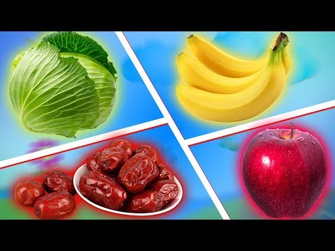ЯБЛОКО, БАНАН, ФИНИК, КАПУСТА - Что будет если совместить! Яблочно капустный сок с бананом и фиником