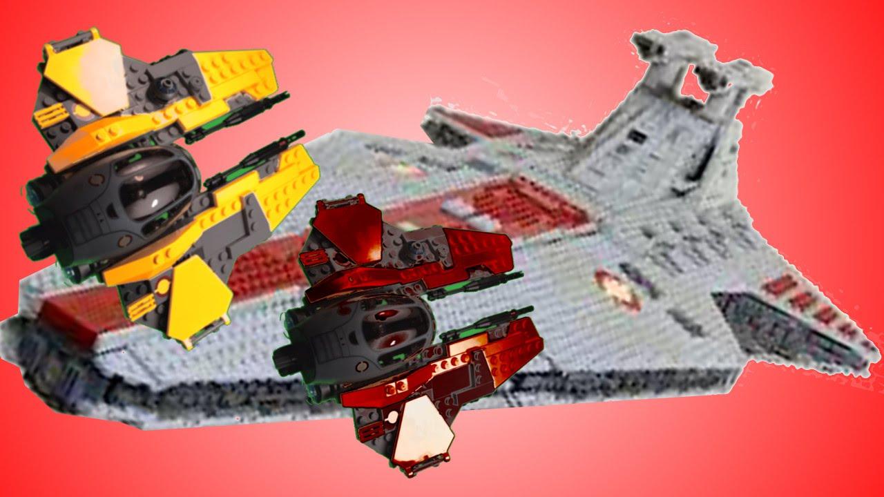 Lego Battle Over Coruscant Teaser Youtube