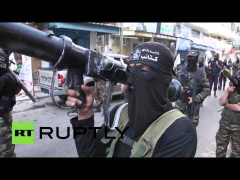 State of Palestine: Hamas stages show of strength in streets of Gaza
