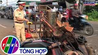 Gambar cover THVL | Xe máy cày gãy bánh, hàng chục người bị thương