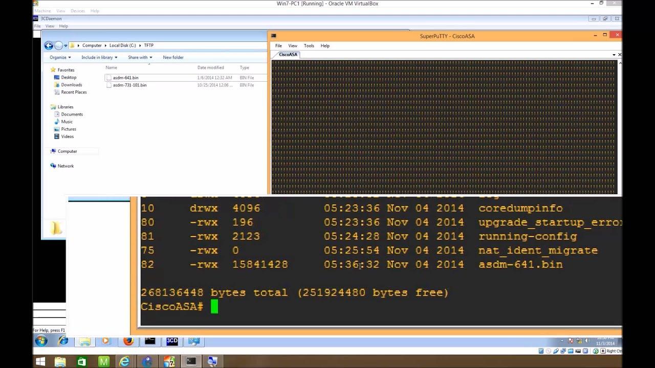 Configuring Cisco ASDM for ASA 8 4 2 on GNS3 1 1