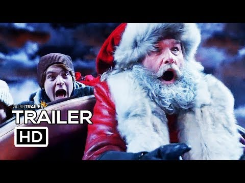 THE CHRISTMAS CHRONICLES Official Trailer #2 (2018) Kurt Russell Netflix Santa Movie HD