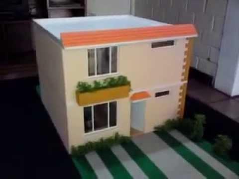 Maqueta casa 1 25 guatemala architectural scale models for Red de una oficina