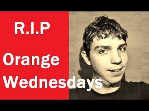 Orange Wednesdays Are Ending