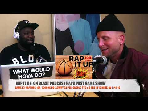 Game 57: Raptors 104 - Knicks 99 | RAP IT UP ON BLAST POST GAME SHOW Mp3