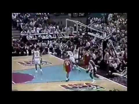 1992 Team USA Highlights vs Venezuela (Preliminary game) LARRY!