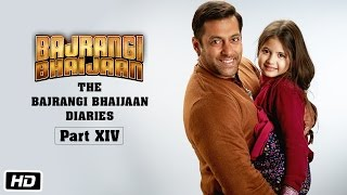 The Bajrangi Bhaijaan Diaries - Part XIV | Making of Poster Shoot | Salman Khan, Harshaali Malhotra
