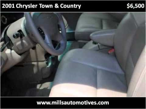 2001 Chrysler Town & Country Used Cars Mount Dora FL