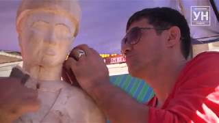 В Уральске появится скульптура из дерева « Қазақ аруы» ( видео)