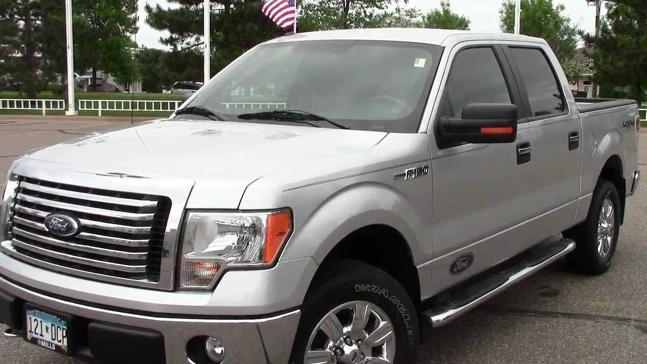 2010 Ford F150 Crew Cab Xlt One Owner