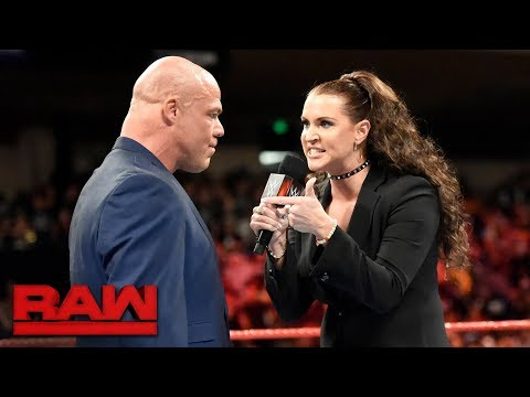 Stephanie McMahon takes issue with Kurt Angle and #UnderSiege: Raw, Oct. 30, 2017 thumbnail