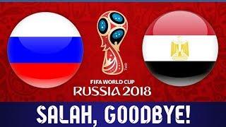 РОССИЯ ЕГИПЕТ 3 - 1  | САЛАХ ЕДЕТ ДОМОЙ! ЧМ 2018