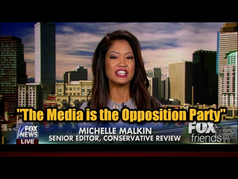 "Michelle Malkin: ""Bannon was right, the media IS  the opposition party"""