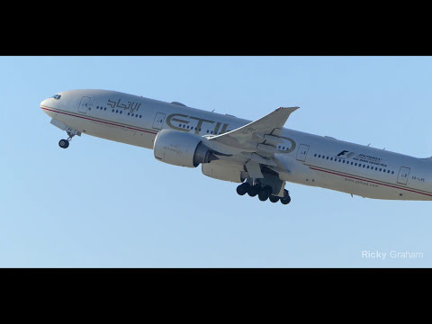 【4K】Departure Compilation at Los Angeles International Airport