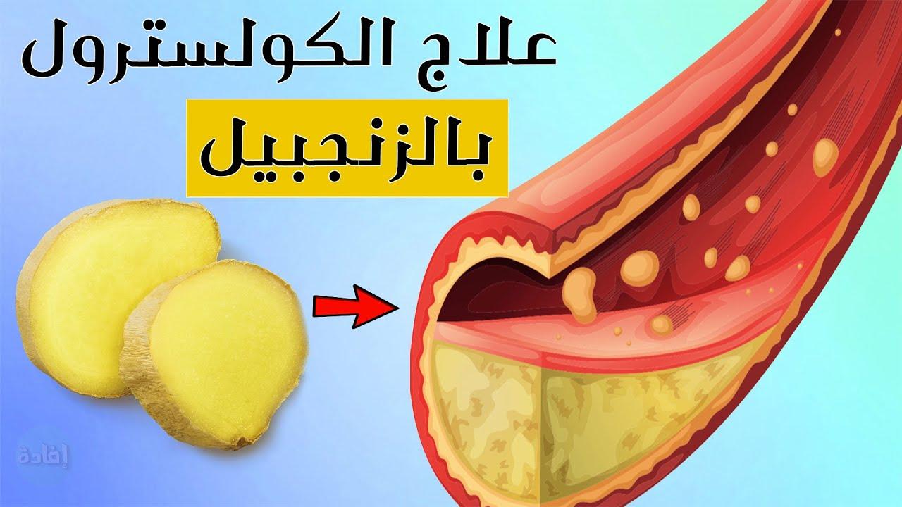علاج الكولسترول بالزنجبيل Youtube