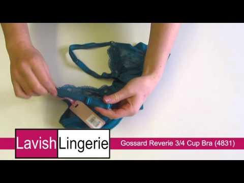 Gossard Lingerie Reverie 3/4 Cup Bra (4831) Jade Green