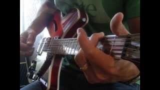 "The Byrds: ""Turn, Turn, Turn"" 12-String Lesson (left hand emphasis) Rickenbakcer 360/12 C63"