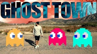 """👻EXPLORING A """"GHOST TOWN"""" in SAN DIEGO! 👻"""