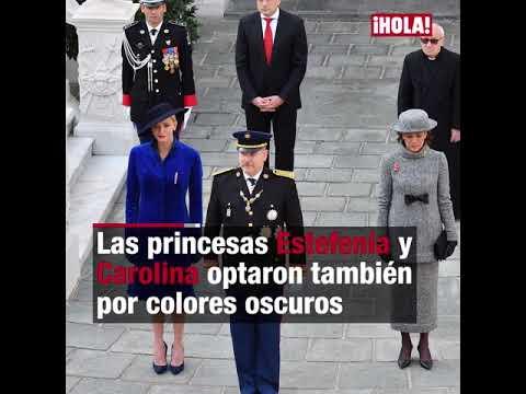 Del rojo de Tatiana Santo Domingo al azul de Charlene, todos los