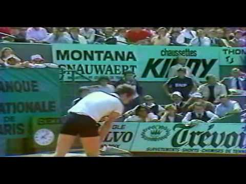 McEnroe vs Connors  SF Roland Garros 1984