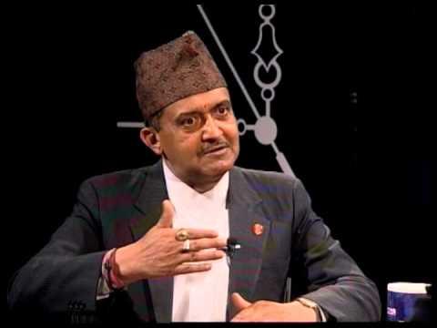 Late. King Birendra's ADC Tika Dhamala in TOUGH talk with Dil Bhusan Pathak- 101