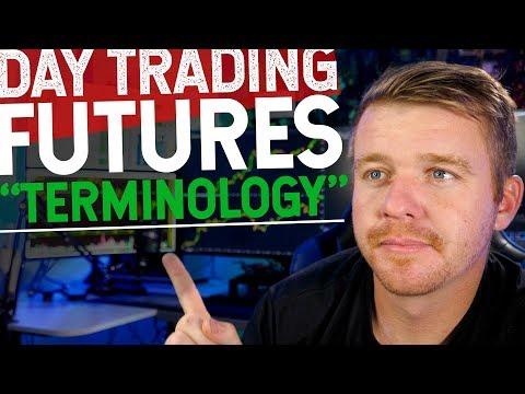 DAY TRADING FUTURES! S&P 500 E MINI TERMINOLOGY!