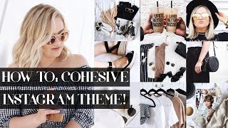 MAINTAINING A COHESIVE INSTAGRAM FEED! + AESTHETIC...