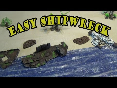 SHIPWRECK on Farland Isle Adventure Project for D&D Part1