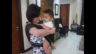 Repeat youtube video Behind the scenes with Supermom Cheska as she learns how to wear the SaYa!