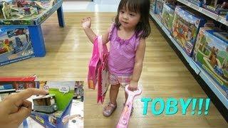 TOBY, Hello Kitty and my Baby Girl Maya - Thomas and Friends Take & Play