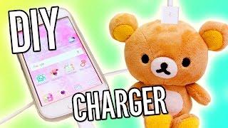 Burning Iphone Charger DIY!!!  (lifehack)