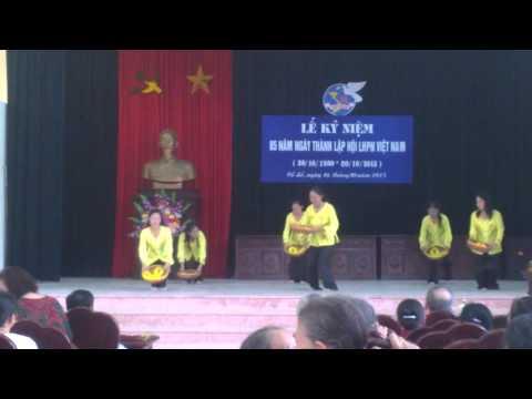 bài múa Ngày mùa - Hội Phụ nữ Tổ dân phố Tây Kênh