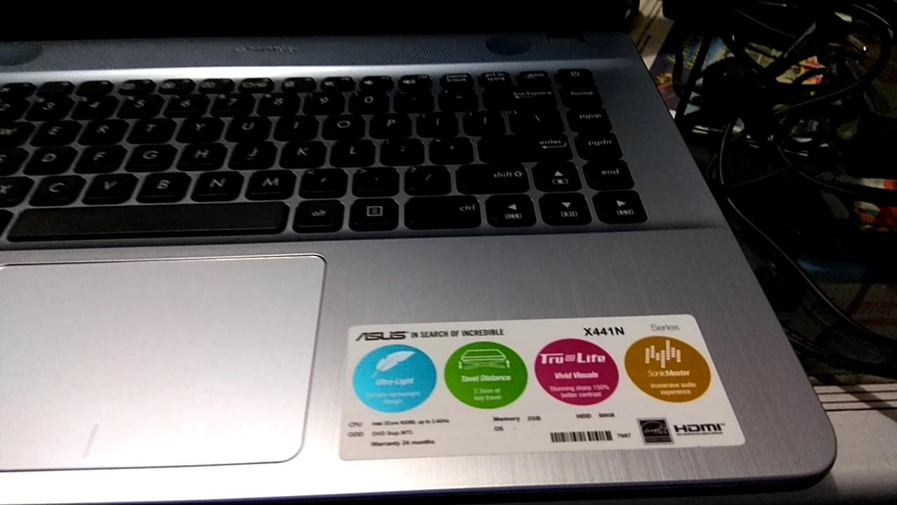 Cara Setting Bios Asus X441n Uefi Plus Instal Windows 10 Youtube