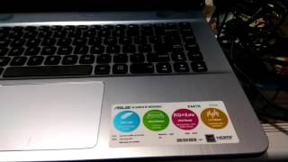 Cara Setting BIOS ASUS X441N UEFI Plus Instal Windows 10