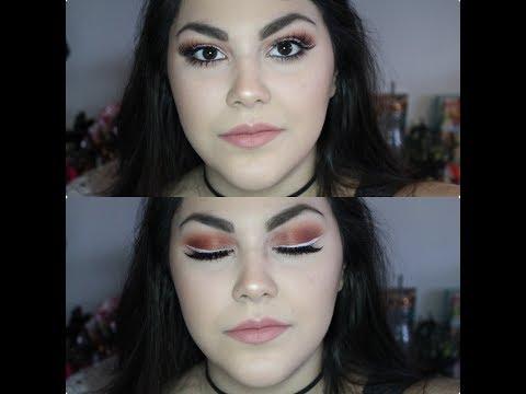Line Art Matte Eyeliner : Grwm:wearable white eyeliner using la girl line art makeup geek