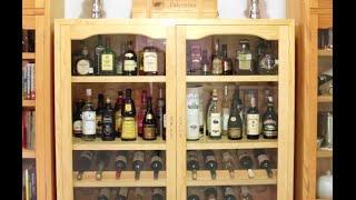Cómo Hacer Una Cava. How To Build A Wine Cabinet.
