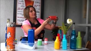 2 técnicas de reciclagem de garrafas vidro