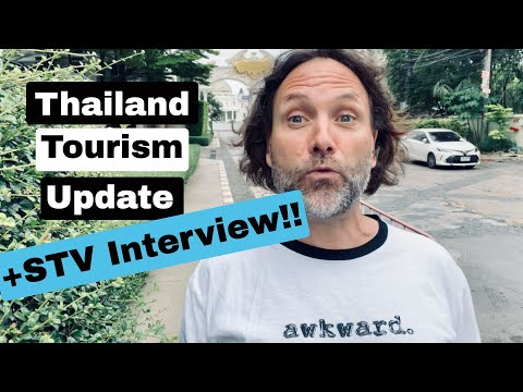 Thailand Tourism Update (and Quarantine Interview) - 60 Seconds in Thailand - Bangkok News