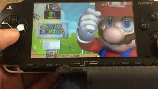 My 128GB modded PSP-1001 on custom firmware 6.61 Pro-C